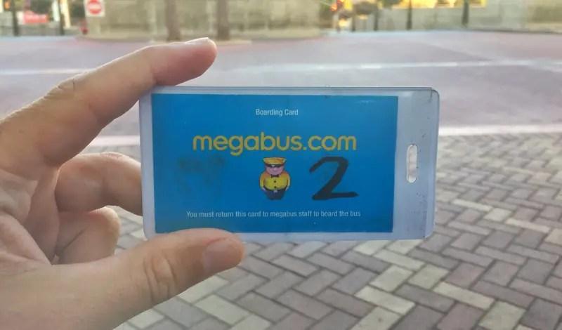 megabus boarding priority