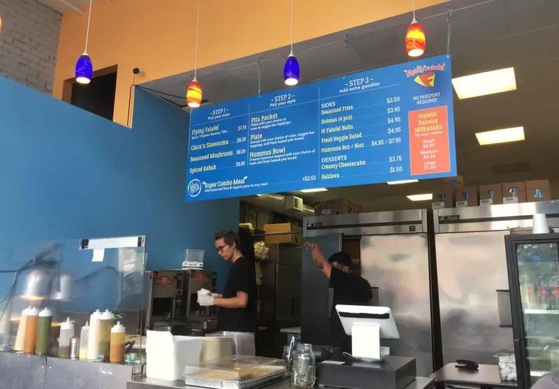 the flying falafel store