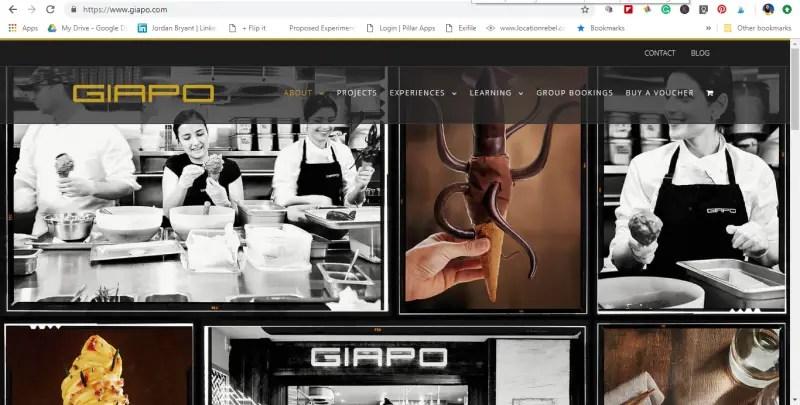 giapo website