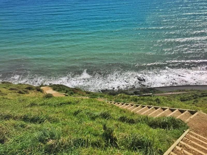 paekakariki escarpment track stairs