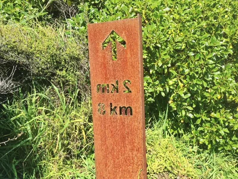 paekakariki escarpment walk distance markers