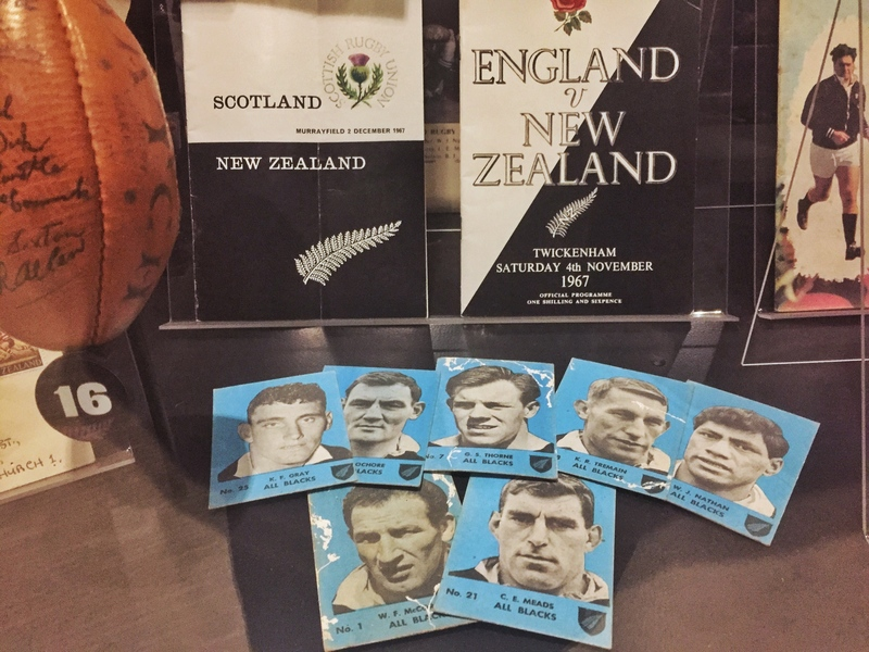 more rugby memorabilia