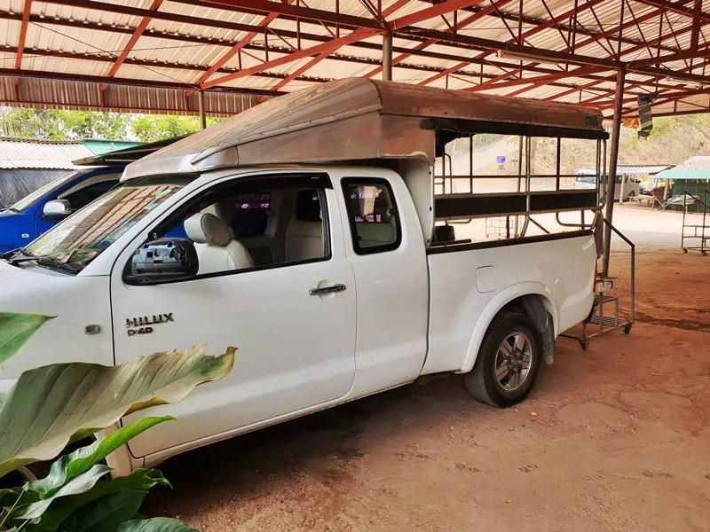 vehicle to wat chaloem