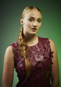 Sophie Turner in Red 213x300 Sophie Turner in Red