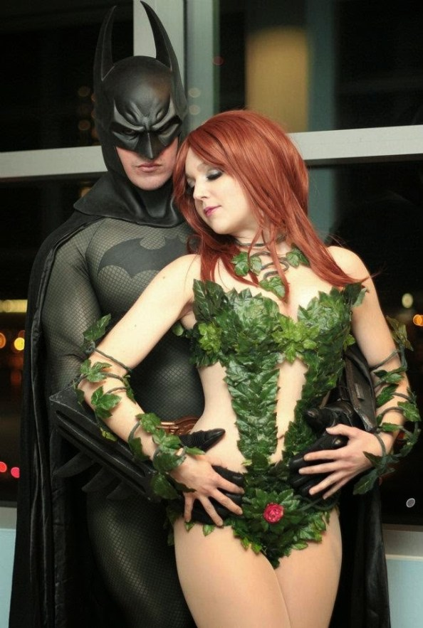 Batman and Poison Ivy Batman and Poison Ivy