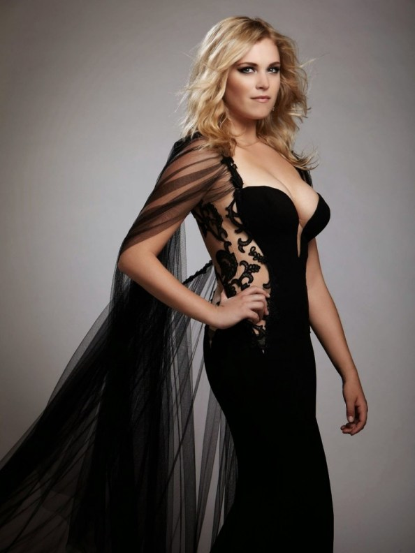 Eliza Taylor in a black dress 768x1024 Eliza Taylor   in a black dress