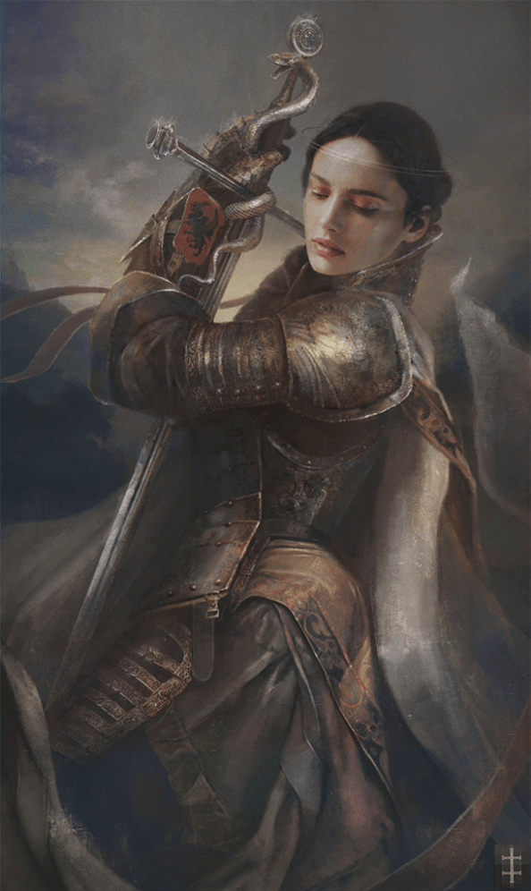 Armored Woman 611x1024 Armored Woman