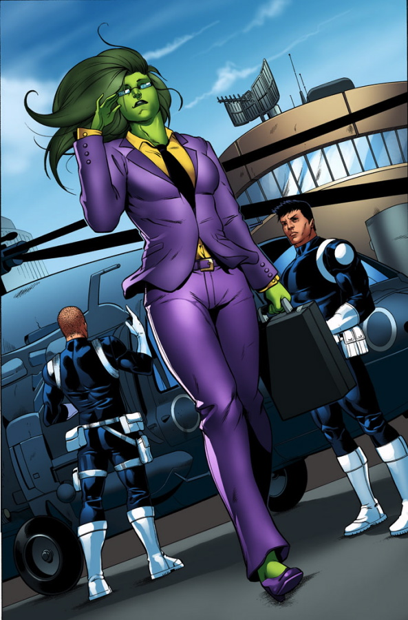 She Hulk is an agent of shield She Hulk is an agent of shield