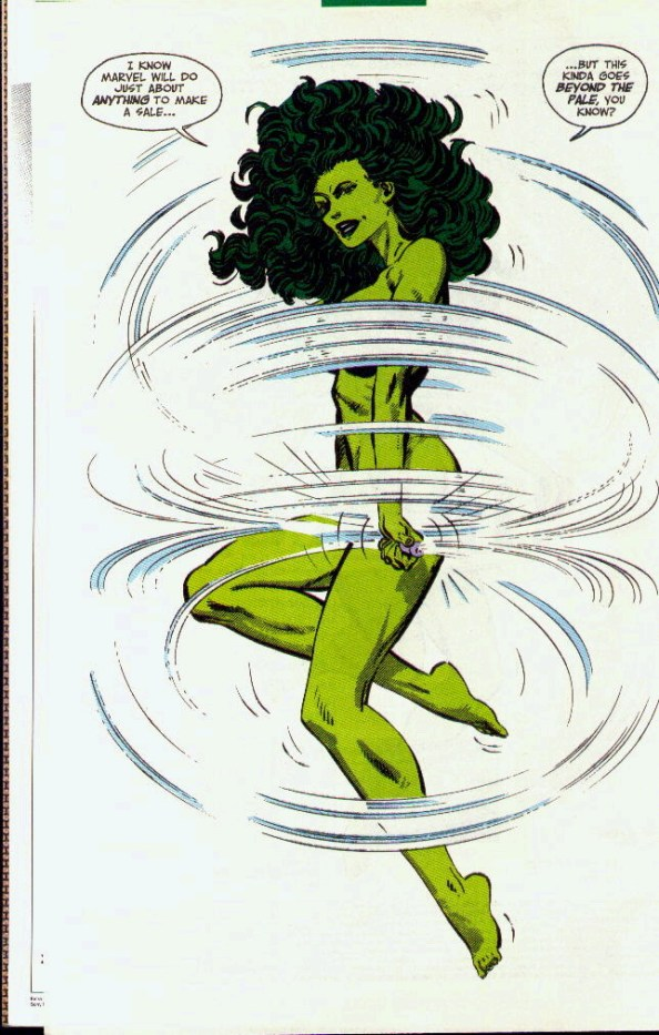 She Hulk skipping rope She Hulk  skipping rope