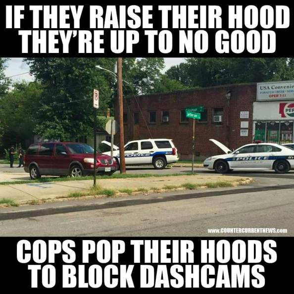 if they raise their hood theyre up to no good if they raise their hood theyre up to no good