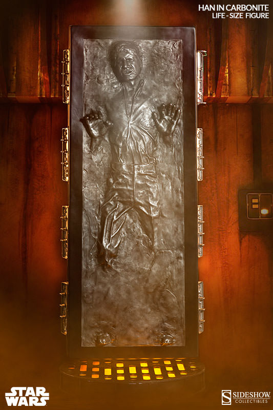 carbonite 2 Life Size Han Solo In Carbonite Can Be Yours For Just $6,999