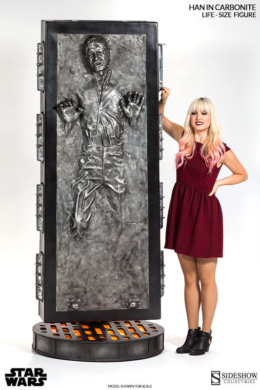 carbonite top Life Size Han Solo In Carbonite Can Be Yours For Just $6,999