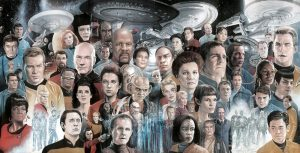 Star Trek Painting