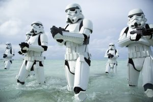 Storm Troopers in the water