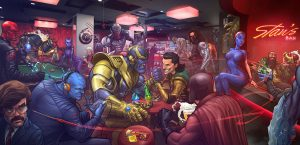 The Villian's Bar