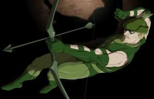green arrow falling