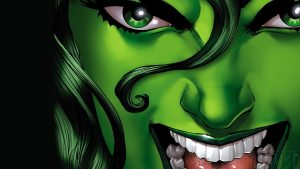 she hulk has an angry mouth