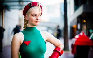 street fighter cosplayer