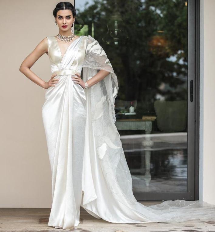 diana penty in saree