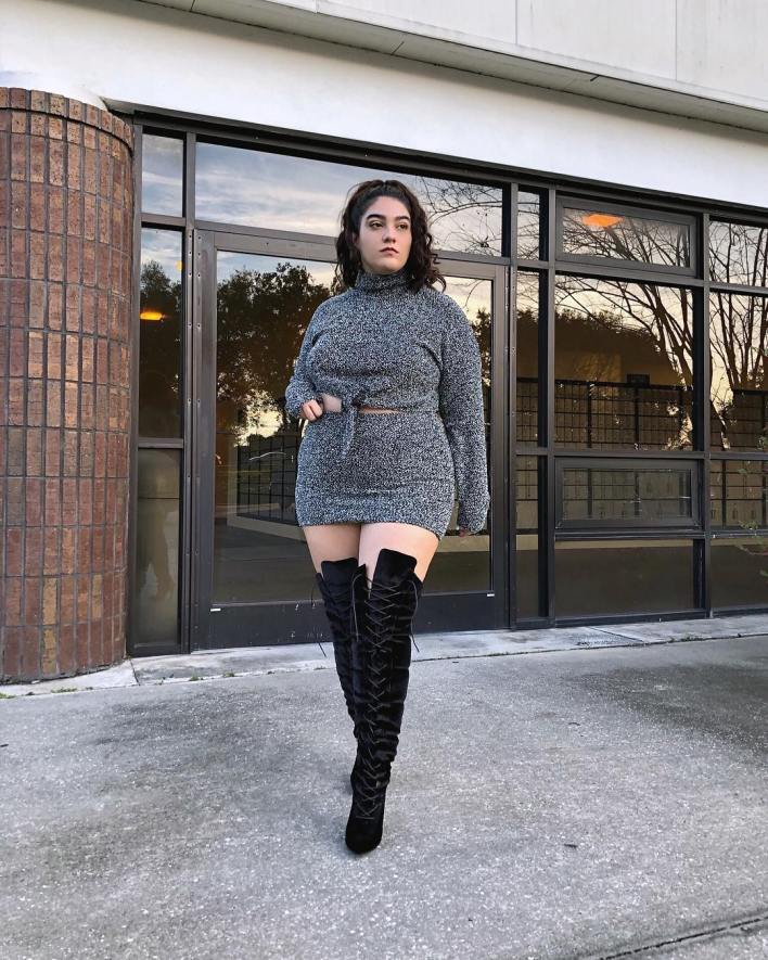 Plus Size Model - Nadia Aboulhosn