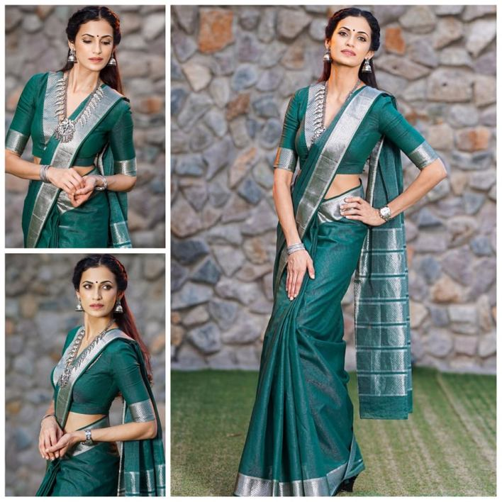 Celebrity Poses In Saree For Photography Ideas