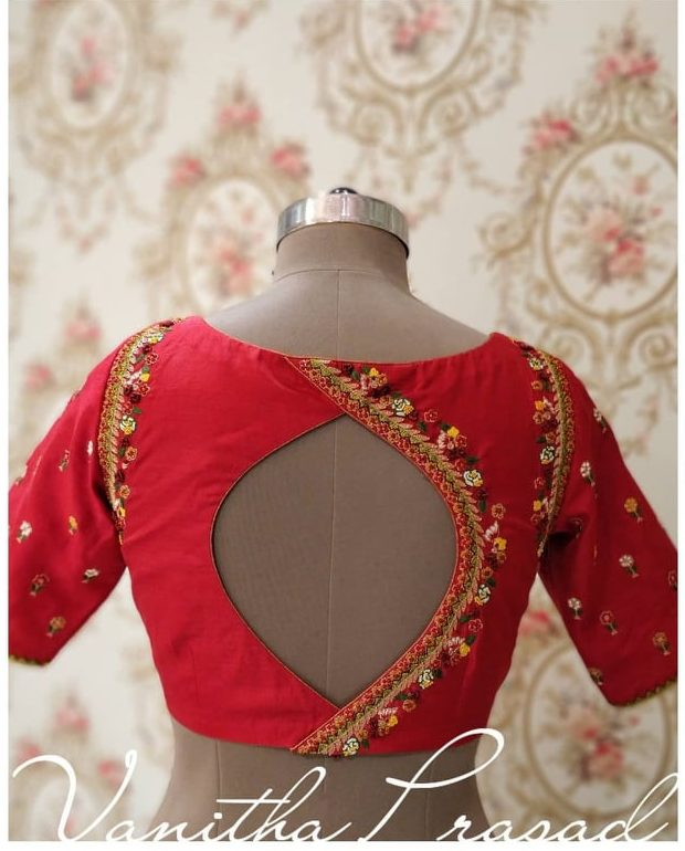 neck designs for blouse