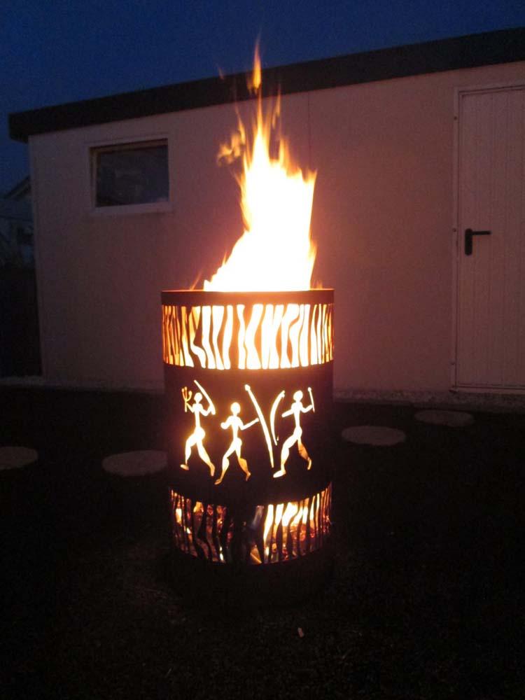 Feuertonnen  Feuerkrbe  TIKO METALLDESIGN