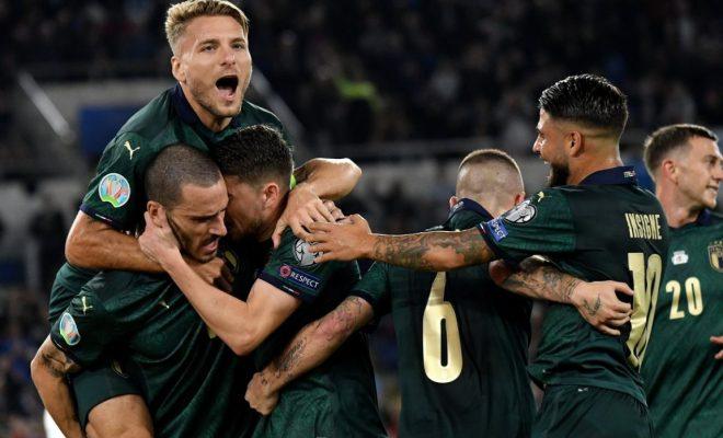 Italia vs Yunani