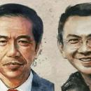 TIKTAK.ID - Ilustrasi Jokowi dan Ahok