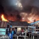 Kebakaran Pasar Baru Tanjung Balai