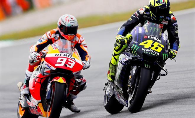 TIKTAK.ID - Valentino Rossi Dalam Sebuah Sesi Balap MotoGP