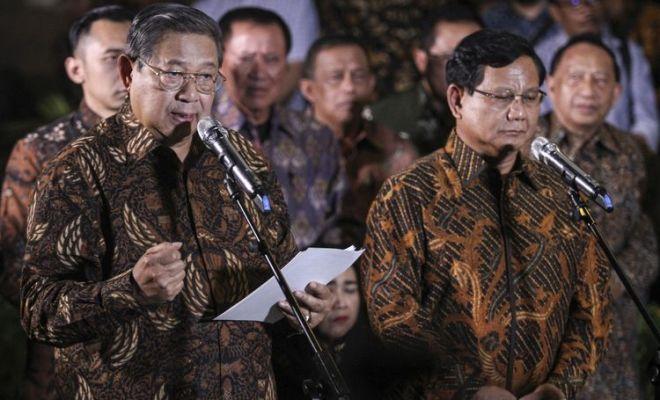 Pernyataan Demokrat Kepada Prabowo