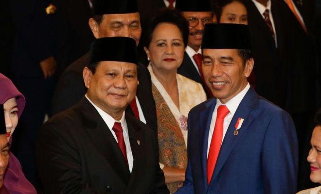 Prabowo Menteri Paling Populer