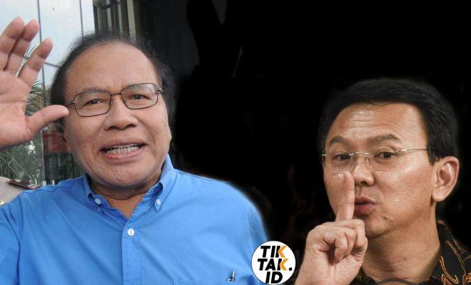 TIKTAK.ID - Ilustrasi Ahok Menjawab Sindiran Rizal Ramli