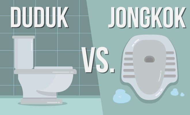4 Bukti Toilet Jongkok 'Lebih Sehat' Ketimbang Toilet Duduk