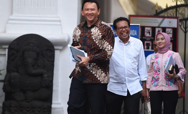 TIKTAK.ID - Lama Tak Jumpa, Ahok-Jokowi Ketemuan di Istana. Bicara Apa?