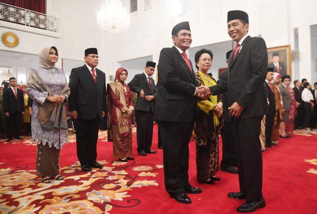 Alasan Jokowi Pilih Dewan Pengawas KPK Berlatar Belakang Berbeda dan Tunjuk Tumpak sebagai Ketua