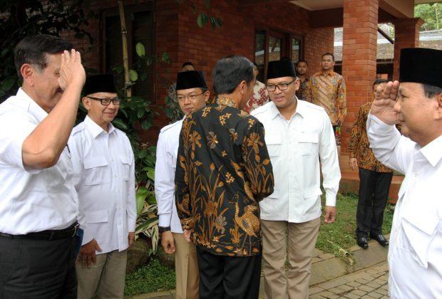 Luhut Ke Prabowo Soal Pertahan Laut