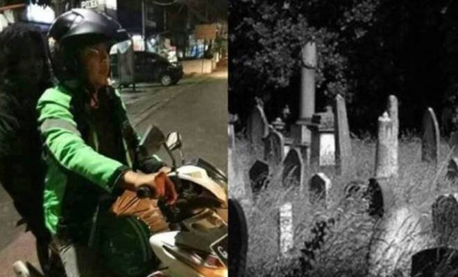 TIKTAK.ID - Viral, Driver Ojol Alami Kejadian Seram Saat Ngojek Malam Jumat