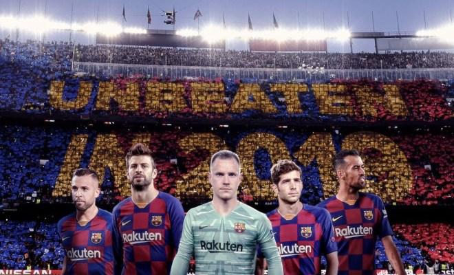Rekor! Barcelona Tak Terkalahkan di Kandang Sepanjang 2019