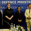 Prabowo dan Retno Pertemuan Menlu Menhan