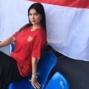 Maria Ozawa Ngajak Nobar Pertandingan Timnas Lawan Vietnam