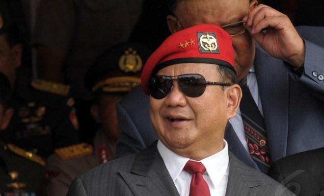 China Klaim Perairan Natuna, Menhan Prabowo: Kita Santai Saja