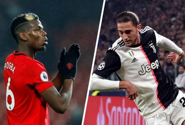 Demi Dapatkan Paul Pogba, Juventus Rela Serahkan Adrien Rabiot ke MU
