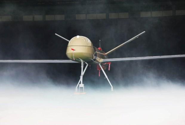 Drone Elang Hitam Dilengkapi Sistem Persenjataan Roket F-16 Siap Jaga Kedaulatan NKRI