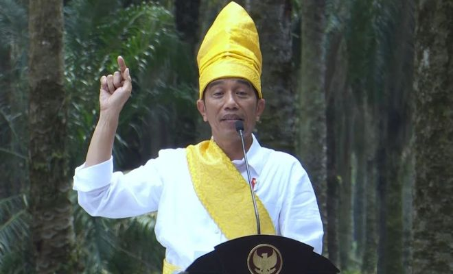 TIKTAK.ID - Jokowi Sentil Uni Eropa yang Hambat Sawit RI: Ini Perang Ekonomi Negara!