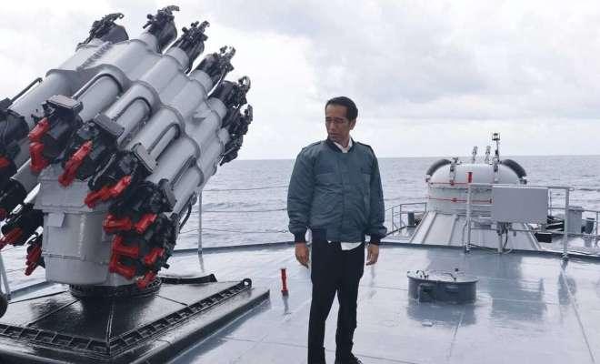 Jokowi Ubah Sikap China Soal Natuna