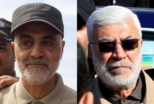 Mayor Jendral Pasukan Qossem Soleimani dan Abu Mahdi Al Muhandis Terbunuh Akibat Serangan AS di Dekat Bandara Irak