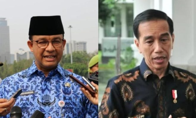 Pasca Banjir, Jokowi ke Anies: Sungai di Jakarta Bukan Hanya Ciliwung