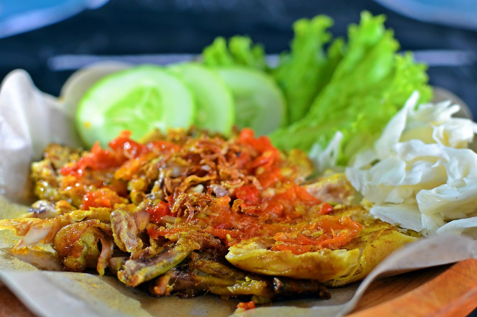 Resep Ayam Penyet Sambal Bawang Pedasnya Mantap - TIKTAK.ID
